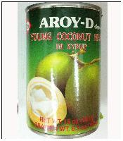 原装进口泰国AROY-D安来利糖水椰肉片