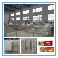 米花糖自动成型生产线/坚果棒切块机/能量棒设备