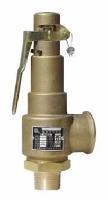 黄铜弹簧全启式安全阀A28W-16T