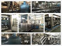 全自动桶装水生产线小型矿泉水设备