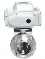 食品卫生级电动蝶阀WD921