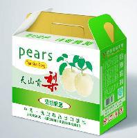 鸭梨彩色包装纸箱定做厂家-鑫卓公司