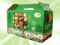 杂粮彩色纸箱包装设计