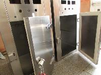 常温臭氧加热不锈钢器具工作服两用灭菌柜