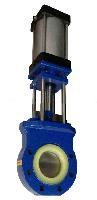 全衬聚氨酯气动刀型闸阀PZ673