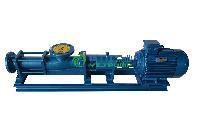 螺杆泵:G型单螺杆泵配调速电机