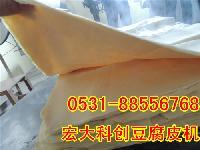 仿手工豆腐皮机厂家 大型豆腐皮机价格 全自动豆腐皮机视频