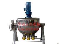 优质夹层锅电加热燃气蒸汽夹层锅