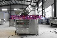电加热油炸锅,全自动油水分离油炸机