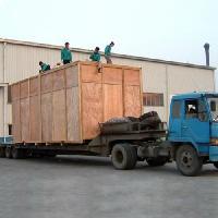 威海市出口大型真空包装箱