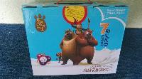 熊出没发酵乳酸菌饮品白云蓝