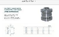 304 316L不锈钢卫生级快装单向阀止回阀