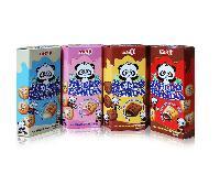 明治熊猫巧克力夹心饼干