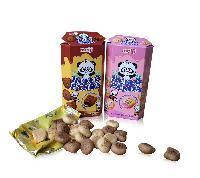 明治熊猫双重巧克力夹心饼干