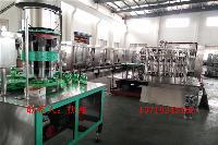 玻璃瓶含气饮料生产线 汽水灌装设备