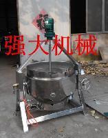 燃汽搅拌全钢蒸汽可倾式夹层锅 煮锅