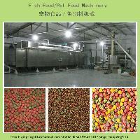 鱼饲料膨化机械设备生产线