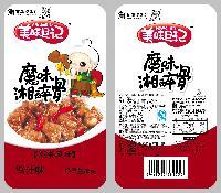 """熊和信美味日记一元""""魔味湘醉骨""""酱汁味"""