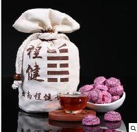程健一级糯米香500克装小沱茶