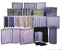 高效空气过滤器HEPA无隔板过滤网、百级洁净度99.99%@0.3um