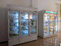 -22度进口牛肉冷柜/立式玻璃门牛肉冷冻柜