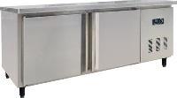 高品质酸奶专用豪华不锈钢冷柜/不锈钢工作台