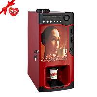 广州番禺宏道全自动投币咖啡机