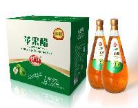 恬润1.5L玻璃瓶苹果醋饮料