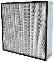 厂家无隔板高效过滤器,定制低阻力hepa高效空气过滤器