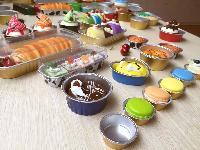 15-500ml耐烤铝箔杯 食品密封包装盒