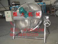厂家直销批发不锈钢电加热搅拌夹层锅煮锅