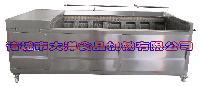 大产量毛辊式猪蹄清洗机,洗猪头的机器