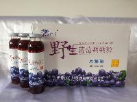 小兴安岭隆广川野生蓝莓颗颗粒