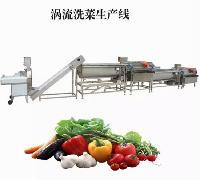 正广涡流式洗菜生产线