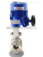 防爆电动V型调节对夹球阀VQ977H