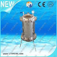 SU304不锈钢正压过滤器、桶式过滤器、不锈钢桶式正(负压)过滤器