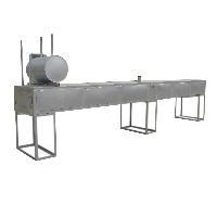 福达机械手拉葫芦隧道式烤箱