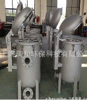 新货供应 不锈钢304,316,316L蚌开式多袋式过滤器