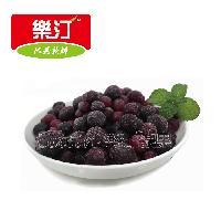 樂汀浆果乐汀冷冻野生蓝莓冷冻水果速冻野生蓝莓餐饮鲜榨烘焙