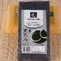 *纯天然绿色食品农家生黑芝麻 供应生态真空包装黑芝麻350g