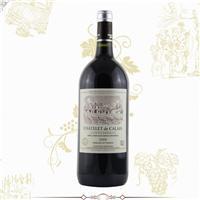 批发法国红酒 卡莱斯1.5L2009AOC干红葡萄酒