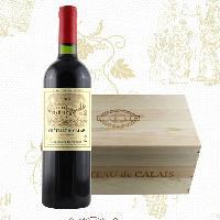 法国进口红酒 卡莱斯2008AOC(红标)木箱装