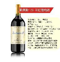 法国红酒 歌图斯2008(AOC)干红葡萄酒 1.5L