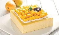 芒果芝心乳酪蛋糕-幸福西饼