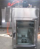 烟熏烘干腊肉机器 五香肉干烟熏设备