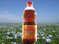 内蒙古纯天然无污染农家自产油农家木榨坊纯胡麻油亚麻籽油月子油