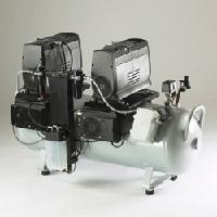 美国JUN-AIR静音无油空压机2×OF1202-150BQ6