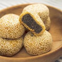 黄石港饼风味220克盒装芝麻饼