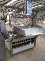 八一专业制造豆制品油炸机 肉制品油炸流水