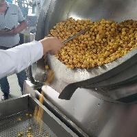 球形爆米花机 大型商用设备 燃气加热效率高